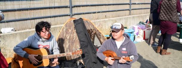 プロの演奏家とアマの演奏家のセッションが自然と始まる。。