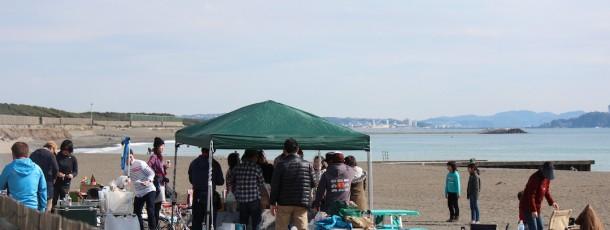 FABQは晴れ男の集まり。江ノ島もくっきり。